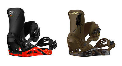Salomon District Mens New Snowboard Bindings Snow 2016 Free Delivery Australia