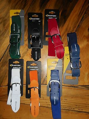 Easton Baseball Pants Belt Softball Stretch Leather adjustible Adult Youth Men