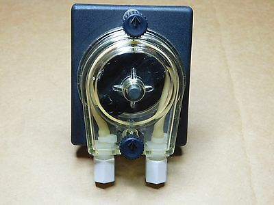 """K980201-2 Chemical/Soap Injection Pump 24VDC 1/8"""" Compression In/Out Bottom Feed"""