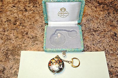 VINTAGE SHANGHAI CHINESE TAPE MEASURE KEY CHAIN  in box