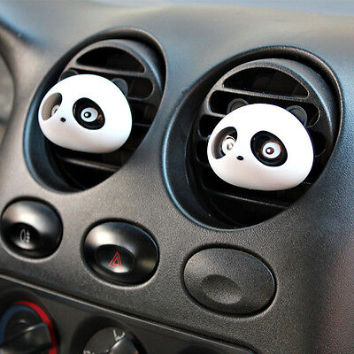 2x Panda Vehicle Car Perfume Air Freshener Auto Decoration Detailing Accessories