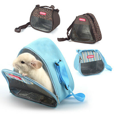 Hamster Hanging Outgoing Hanging Bag Ferret Squirrel Rabbit Outdoor Cage Bed New