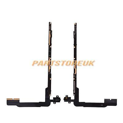 UK Headphone Jack PCB Board Flex Cable Replacement For iPad 3 4 WiFi Version