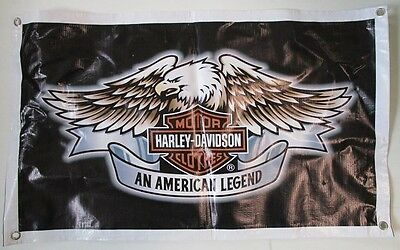 Harley Davidson Motor Cycles new vinyl banner sign for home bar or pub collector