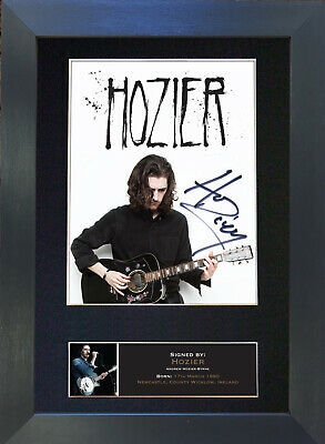 HOZIER Signed Mounted Autograph Photo Prints A4 567