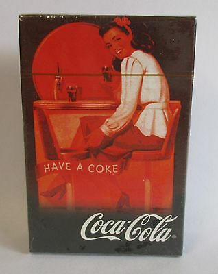 Coca Cola Coke new sealed deck of playing cards for home bar pub or collector
