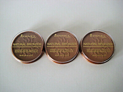 Rimmel Natural Bronzer Waterproof Bronzing Powder - Puder NEU & OVP