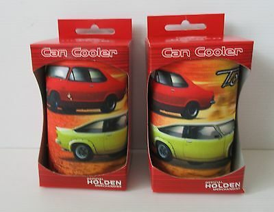 Holden Torana Racing new boxed x 2 stubby can holder for home bar pub collector