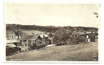 View Of Gullerasen Sweden Posted 1912 Vintage RPPC Postcard