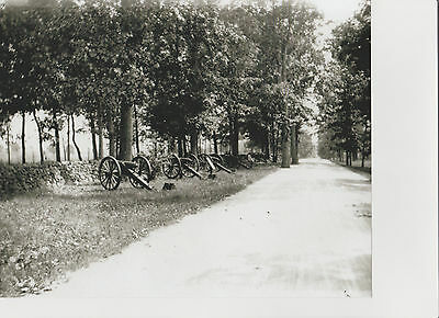 Vintage Gettysburg Battlefield Photo Confederate Ave Cannons