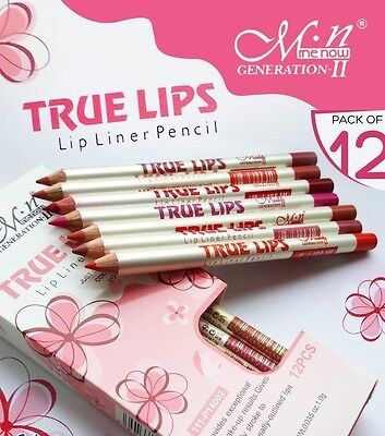 SET 12 perfilador de labios delineador labial Lip Liner True Lips Me Now. ESPAÑA