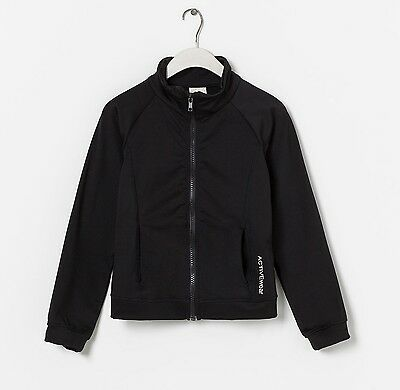 ZARA Girl's Contrast Jacket Black ( Selection Of Different Size )