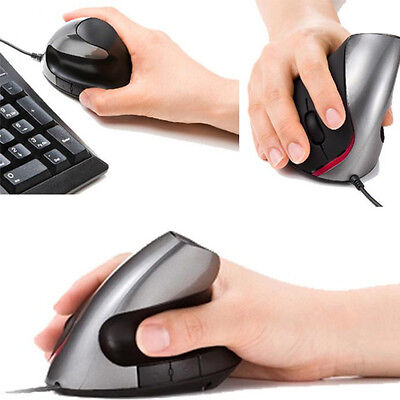Hotsale Ergonomic Design USB Vertical Mouse Wrist Healing For Computer PC Laptop