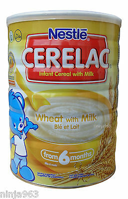 Nestle Cerelac Wheat with milk (1 KG) From 6 Months