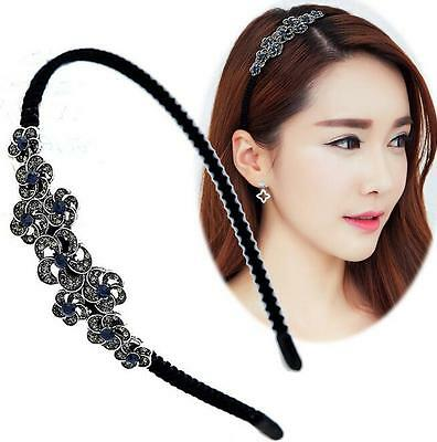 New Fashion Women Rhinestone Head Chain Jewelry Headband Head Piece Hair Band