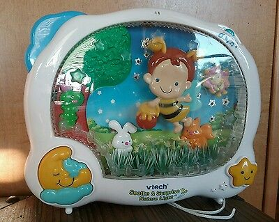 Vtech Soothe & Surprise Nature Light Baby's Crib Toy