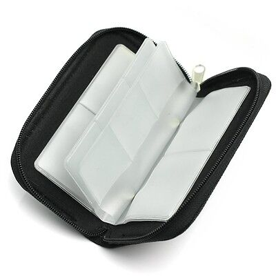 SDHC MMC CF Micro SD Memory Card Storage Carrying Pouch Case Holder Wallet Bag M