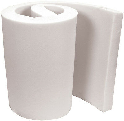 """Professional Upholstery Foam 2"""" Thick, 18"""" Wide X 72"""" Long Regular Density."""