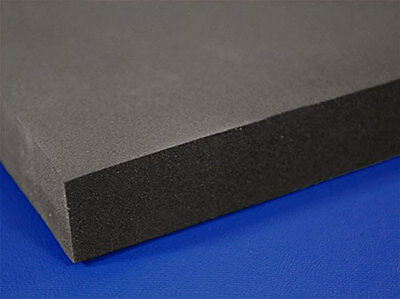"""Professional Upholstery Foam 6"""" Thick, 18"""" Wide X 72"""" Charcoal"""