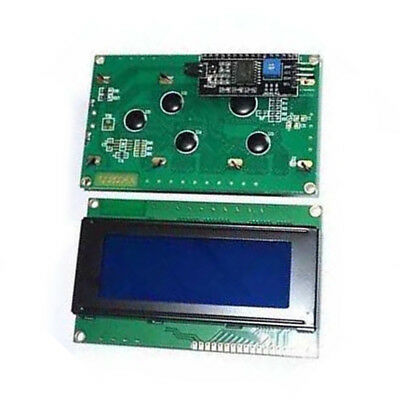 Blue Display IIC/I2C/TWI/SP Serial Interface 4 line 20 character LCD Module FAI