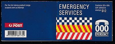 Australia 2010 Emergency Services Phil Booklet ($12) - B459