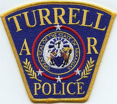 Turrell Arkansas Ar Police Patch