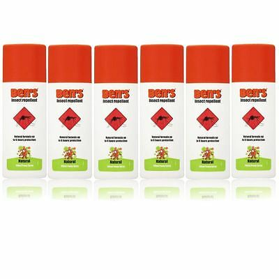 BENS 30 INSECT REPEL SPRAY 100ML - 6 Pack