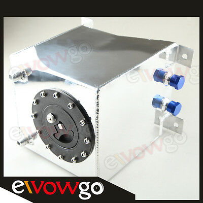 Universal Polished Lightweight Aluminum 10L /2.5 Gallon Fuel Cell Tank