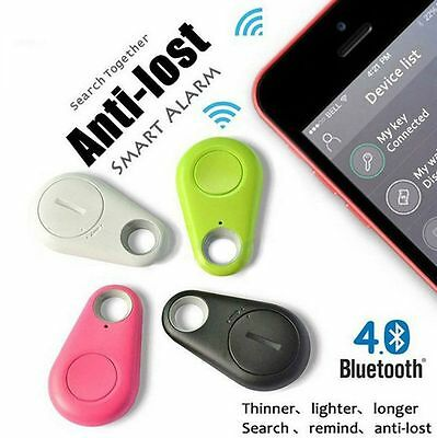 Bluetooth 4.0 Tracer Locator Tag Alarm Wallet Key Pet Bag Tracker Finder