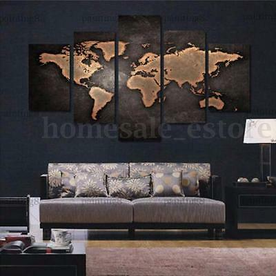 Hand-Painted Modern Abstract Huge Wall Art Oil Painting On Canvas (No Frame)