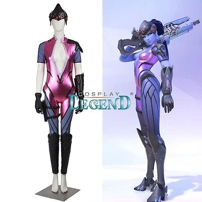 Overwatch Widowmaker cosplay costume Custom Made
