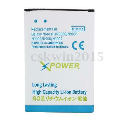 4000mAh Replacement Phone Battery For Samsung Galaxy Note 3 Note III N9000 N9005