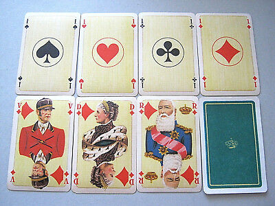 Non Standard Mesmaekers Dynastie Royale Belgium 1934 Playing Cards Vintage