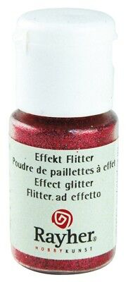 Poudre paillettes irisée - Rouge cerise - Ultrafine - 10 ml - Rayher