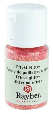 Poudre paillettes irisée Rose pastel Ultrafine 10 ml - Rayher
