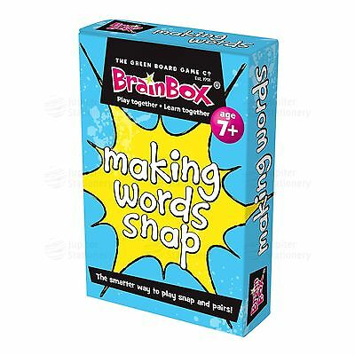 Children's Making Words Snap Educational Literacy Card Game g8