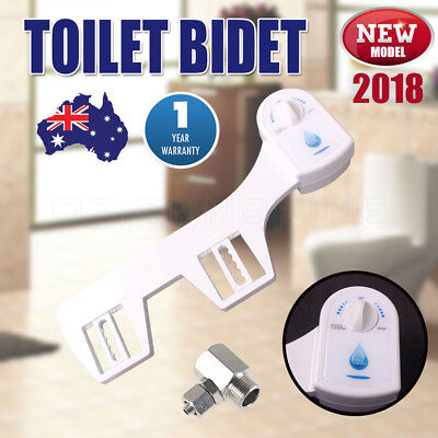 2018 NEW Toilet Bidet Seat Spray Hygeian Water Clean Unisex Bathroom Shattaf AU