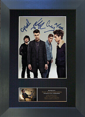 THE COURTEENERS Signed Mounted Autograph Photo Prints A4 543