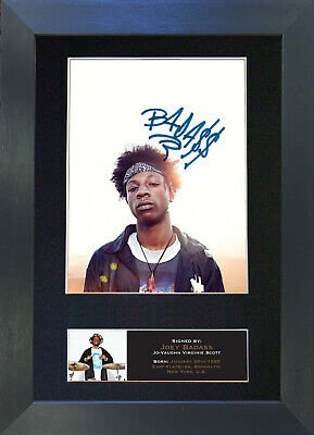 JOEY BADASS Signed Mounted Autograph Photo Prints A4 541