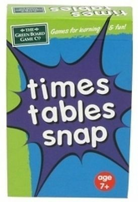 Educational Times Tables Snap Card Game for Children g1