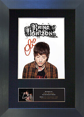 OLI SYKES Signed Mounted Autograph Photo Prints A4 538