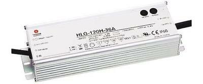 Mean Well HLG-120-20A, Constant Voltage Dimmable LED Driver 120W 20V 6A