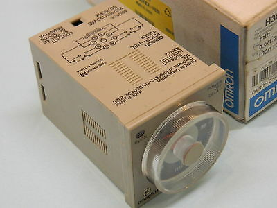 Omron H3CR-H8L 8Pin Multifunction Timer 0.05s-12min 110VAC Relay 250vac 5A