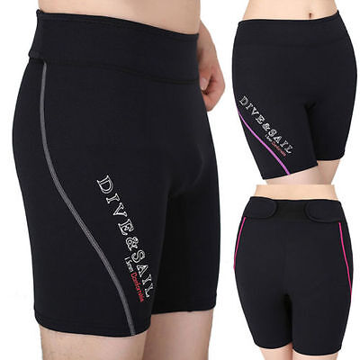 Women/Mens Neoprene Wetsuit Rash Guard Swim Shorts Diving Snorkeling