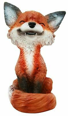 """Teehee Pets Collector Item Grinning Sly Fox Decorative Figurine 4.25""""H Toy Hobby"""