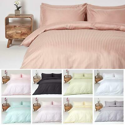 Egyptian Cotton Continental Size Duvet Cover with Pillowcase, 330 Thread Count