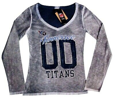 Nfl Womens Apparel   Tennessee Titans Ladies Nfl Double-Dyed Team Tee Shirt 0575ef39d