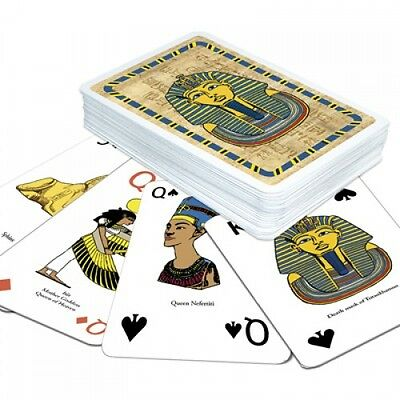 Ancient Egypt Playing Cards Educational Card Game for Children g108