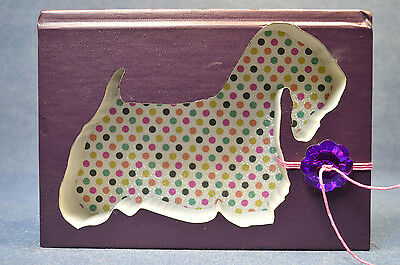 Sealyham Terrier Upcycled Book - 006