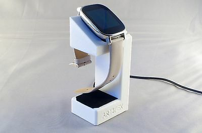 ASUS ZenWatch 2 Charging cradle watch stand by Artifex Design STAND ONLY(White)